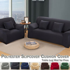 Single Seat Spandex Stretch Couch Slipcover Case Sofa Cover Settee Protector