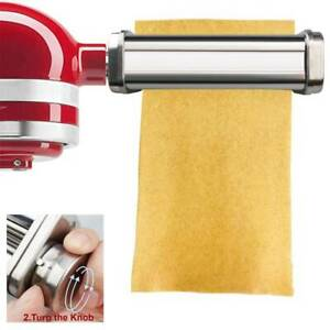 Pasta Roller Attachment for Kitchenaid Stand Stainless Steel