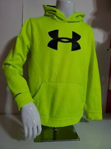 Under Armour Loose Hoodie Sweatshirt Storm Youth Size XL Volt Green. $9.99