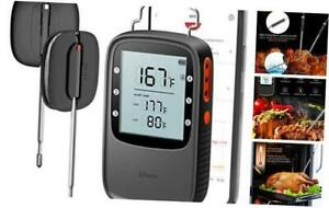 Govee Grill Thermometer, Bluetooth Digital Meat Thermometer with Dual Probe, 230