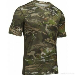 Under Armour Men's UA Tech Scent Control Ridge Reaper Shirt, Forest Camo, XL,$45 $29.95
