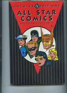 ALL STAR COMICS ARCHIVES 9 Volume Nine 2003 Justice Society of America JSA EB9
