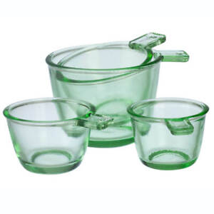 Nostalgia Glass Dry Measuring Cups by Home Marketplace, Set of 4 - Free Shipping