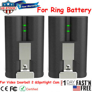 Rechargeable Battery Pack Quick Release For Ring Video Doorbell 2