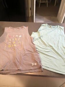 Girls Under Armour Youth Size YXL Tank Top shirt 2 Shirts $5.00