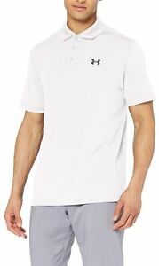 Under Armour Mens Performance Polo White Size XL Activewear Long Sleeve $54 282 $14.99