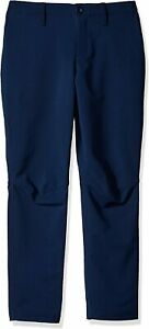 Under Armour Boys Match Play Golf Pants Navy Blue Size 12 Tapered $65 892 $19.99
