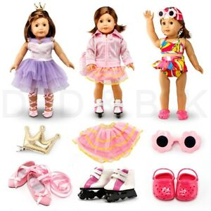 Fits American Girl 18quot; Sports Outfit18 Inch Doll Clothes Costume