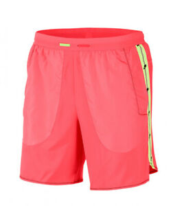 "Nike Flex Wild Run 7"" Running Shorts Ember Glow Pink Reflective Men's Size 2XL $35.00"
