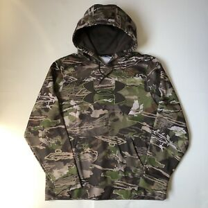 UNDER ARMOUR HOODED SWEATSHIRT REALTREE CAMO SIZE L $15.00