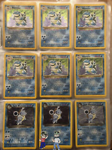 ORIGINAL Pokemon 11 Card Lot 100% Vintage WOTC 1st Edition RARE Included $23.99