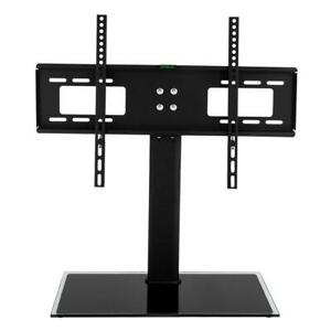 TV Stand Base Universal Mount Bracket Height Adjustable for 32quot; 55quot; TVs
