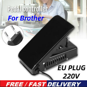 Power Cord Foot Pedal Control FOR Brother Sewing Machine Accessories Black $24.98