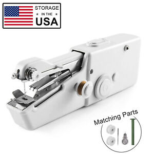 Mini Held Sewing Machine Handheld Electric Stitch Portable Cordless Household $14.99