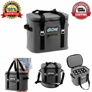 Insulated Soft Cooler Lunch Bag 24 Cans Water-Resistant Leakproof Storing Food