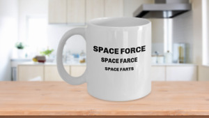 US Space Force mug US Space Force coffee mug gift for her gift for him gift $15.95