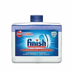 Finish Dual Action Dishwasher Cleaner Fight Grease & Limescale Fresh 8.45oz