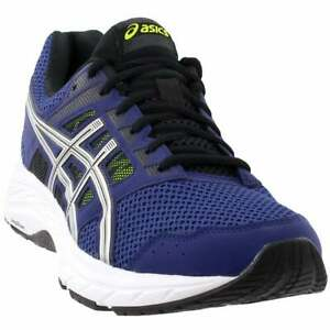 ASICS GEL Contend 5 Casual Running Shoes Blue Mens $49.95