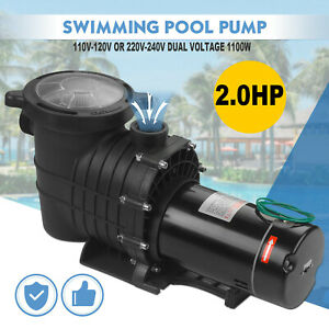 110 240V 2HP Inground Swimming Pool pump motor Strainer Hayward Replacement U.S