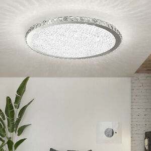 Crystal LED Ceiling Light Crystal Chandelier Modern Flush Mount Light Fixture