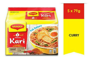 Delicious Instant Curry Goodness MAGGI 2-Minute Noodles Kari 5 X 79g