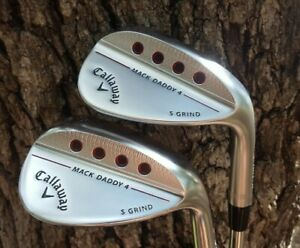 MINT CALLAWAY MACK DADDY 4 54 & 58 DEGREE WEDGES S GRIND TOUR ISSUE S200