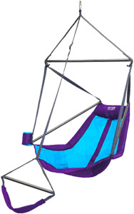 ENO Eagles Nest Outfitters Lounger Hanging Chair PurpleTeal