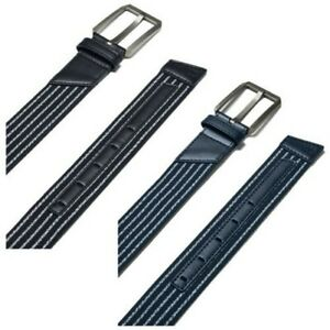2020 Under Armour Mens Stretch Golf Belt New Woven Webbing Leather Metal Buckle $42.16