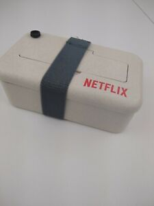 Netflix Promotional Bento Box Food Container with Utensils Bamboo Eco Friendly