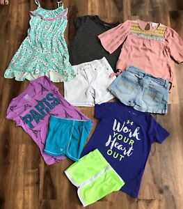 Lot of Girls Clothes Sz 7 8 Under Armour Justice Hayden JOES Art Class $12.99