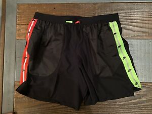 "Nike Flex Wild Run 7"" Black Dri Fit Running Shorts Men's Size 2XL BV5607 010 $55.00"