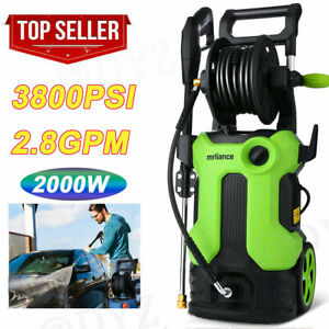 3800PSI 2.8GPM Electric Pressure Washer High Power Cold Water Cleaner Machine US $139.89