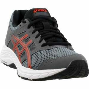 ASICS Gel Contend 5 Casual Running Shoes Grey Mens $39.95