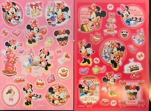 Minnie Mouse Stickers 2 Sheets Free Ship Sale