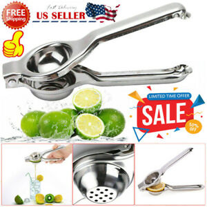Hand Held Stainless Steel Lemon Orange Squeezer Juicer Kitchen Tool Good Quality