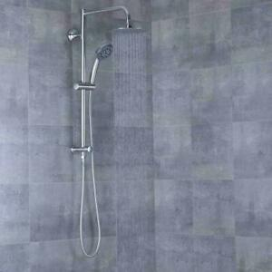 AFA Stainless Steel Multi-Function Hand Held & Rain Head Shower System AFLZ01A