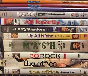 Lot Collection of 9 DVD Comedy TV Series Reality TV Scrubs Family Guy The Office
