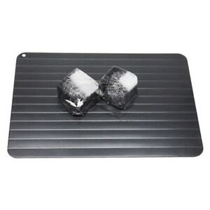 Quick Fast Defrosting Tray Non Stick Board Meat Frozen Food Rapid Thaw Plate D