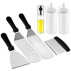 BBQ Grill Tools Set, Heavy Duty Stainless Steel Barbecue Grilling Accessories...