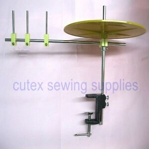 Sewing Machine Binding amp; Tape Holder Reel With Mounting Clamp 10quot; Disc $24.50