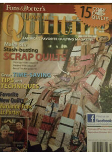 Fons And Porter Love Of Quilting Sept Oct 2011 Stash Busting Quilts $3.99