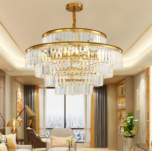 Crystal Modern Contemporary Chandeliers Pendant Ceiling Chandelier Lighting $179.99