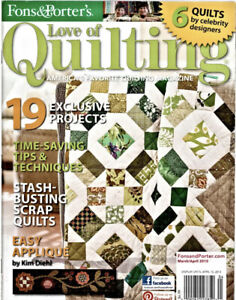 Fons amp; Porter#x27;s Love of Quilting Mar Apr 2013 Quilt of Valor Stash Busting $3.99