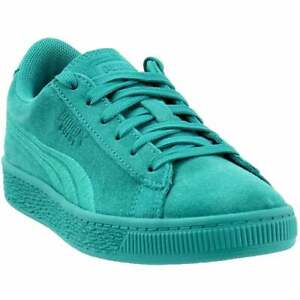 Puma Suede Classic Badge Lace Up Sneakers Kids Boys Girls Casual Sneakers $19.99