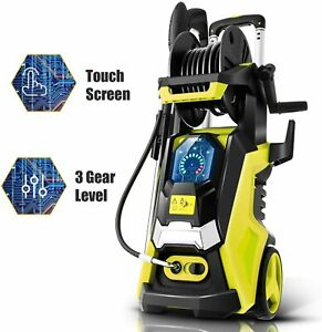 3800PSI 2.8GPM Electric Pressure Washer Powerful Water Cleaner Machine in USA $79.99
