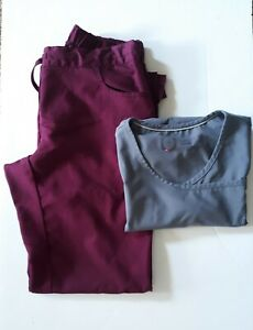 Grey Anatomy Pants and Urbane performance Scrub Top Set Size XS