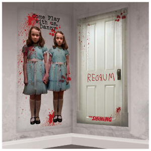 STEPHEN KING#x27;S The Shining SCENE SETTER ADD ON#x27;S 2pc Halloween Party Supplies