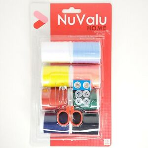 18 Piece Basic Home Sewing Kit NuValu 8 Spools of Thread amp; Basic Sewing Kit $6.74