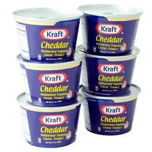 Kraft Cheddar Cheese Cups 6.7 oz Pack of 6 FREE amp; FAST SHIPPING