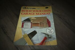 Build Your Own Garage Manual by National Plan Service 1992 2nd edition